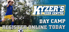 Day Camp Registration with Kyzers Soccer Centre